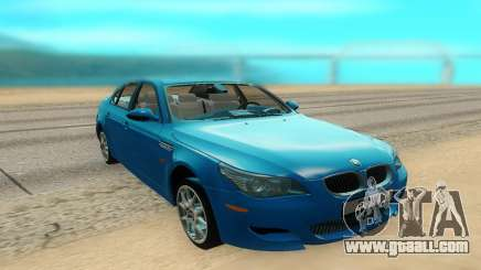 BMW M5 E60 for GTA San Andreas