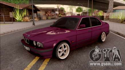 BMW E34 520i Sedan Stance Version for GTA San Andreas