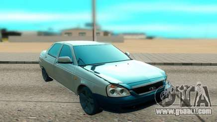 VAZ 2170 white for GTA San Andreas