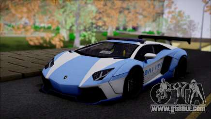 Lamborghini Aventador v2 for GTA San Andreas