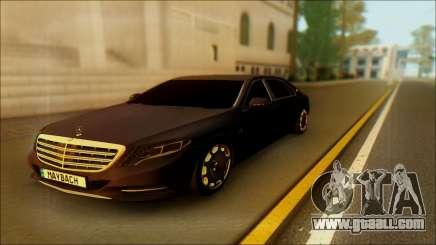 Mercedes-Benz Maybach for GTA San Andreas