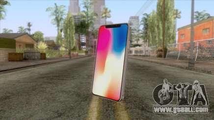 iPhone X Black for GTA San Andreas