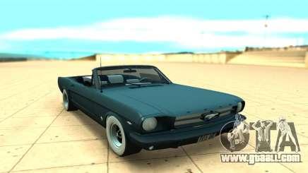 Ford Mustang Convertible for GTA San Andreas