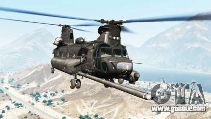 Boeing MH-47G Chinook [replace] for GTA 5