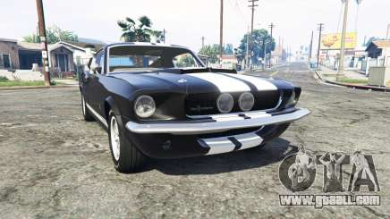 Ford Mustang GT500 1967 v1.2 [replace] for GTA 5
