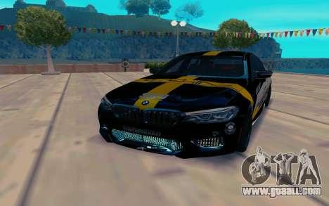 BMW M5 F90 SpeedHunters for GTA San Andreas