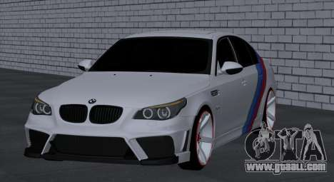 BMW M5 E60 SS (SmotraStyle) for GTA San Andreas right view