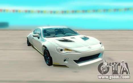Toyota GT86 RB Ft Rotiform Permaisuri for GTA San Andreas