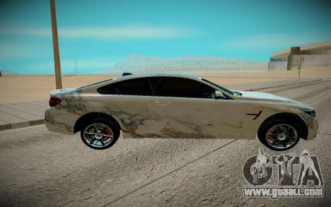 BMW M4 TR for GTA San Andreas left view