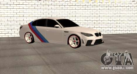 BMW M5 E60 SS (SmotraStyle) for GTA San Andreas left view