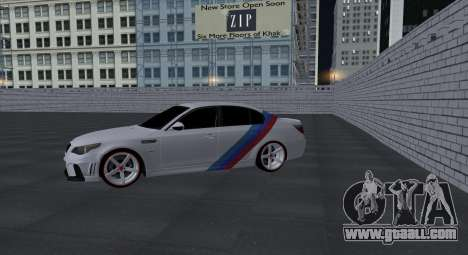 BMW M5 E60 SS (SmotraStyle) for GTA San Andreas inner view