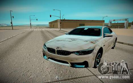 BMW M4 TR for GTA San Andreas right view