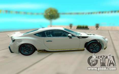 Toyota GT86 RB Ft Rotiform Permaisuri for GTA San Andreas left view
