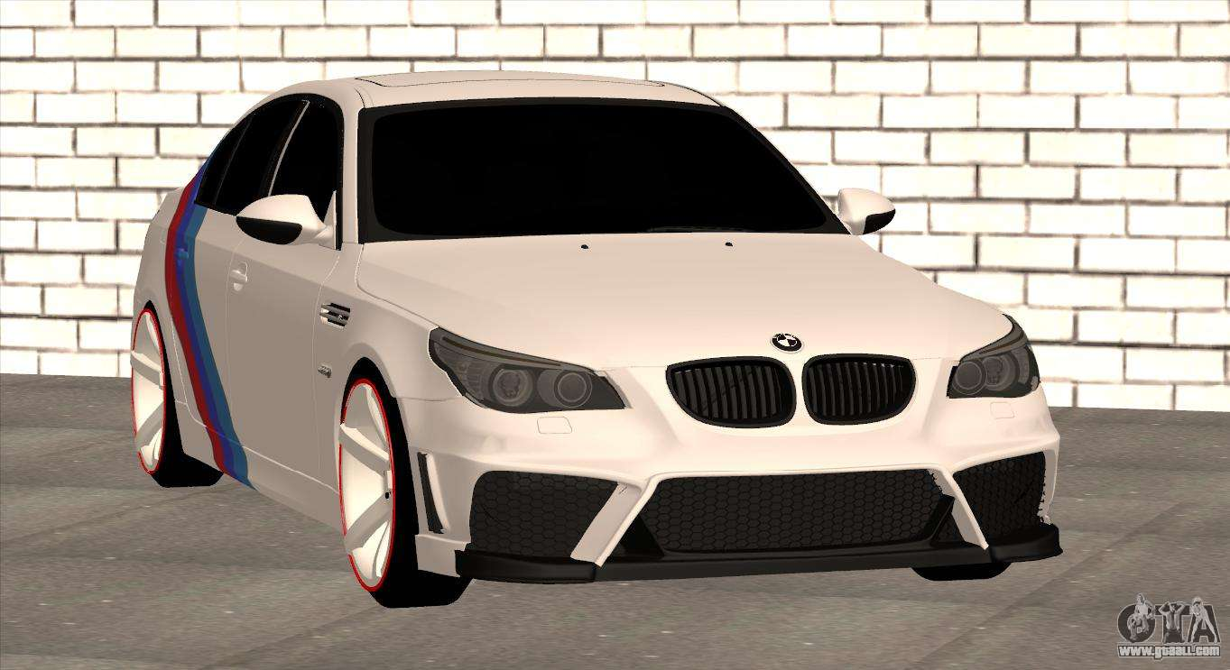 BMW M5 E60 SS SmotraStyle For GTA San Andreas