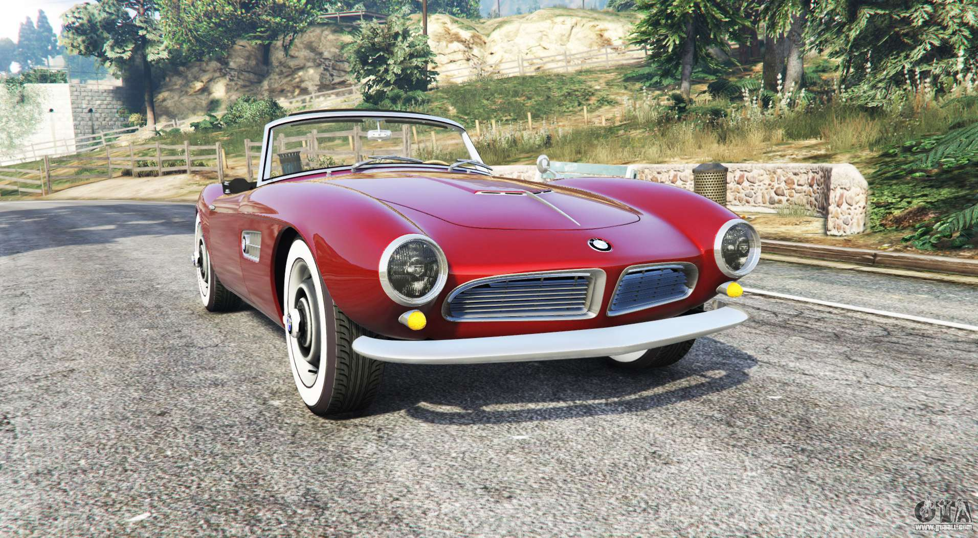 bmw 507 1959 v2 0 replace for gta 5. Black Bedroom Furniture Sets. Home Design Ideas