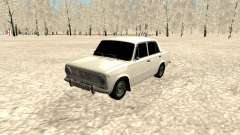 VAZ 2101 white for GTA San Andreas