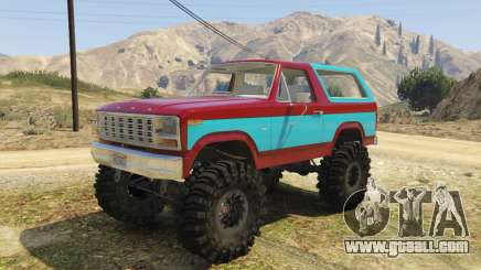 Ford Bronco MudSlinger 1980 for GTA 5