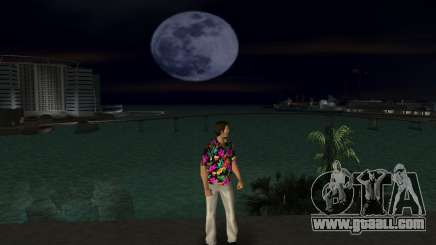 Stylish shirt for Tommy for GTA Vice City