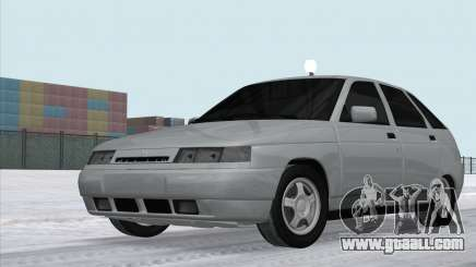 VAZ 2112 White Drain for GTA San Andreas