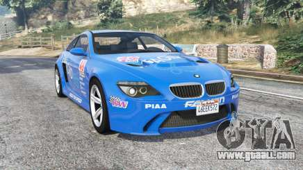 BMW M6 (E63) WideBody Pagid RS v0.3 [replace] for GTA 5
