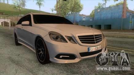 Mercedes-Benz E-Class W212 for GTA San Andreas