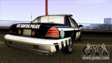 Ford Crown Victoria 2011 LSPD for GTA San Andreas