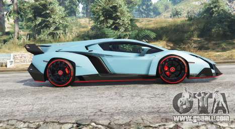 GTA 5 Lamborghini Veneno 2013 v1.1 [replace] left side view