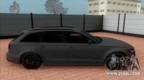 Audi RS6 Avant C7 Bulkin for GTA San Andreas back left view