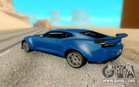 Chevrolet Camaro ZL1 Forza Edition 2017 for GTA San Andreas