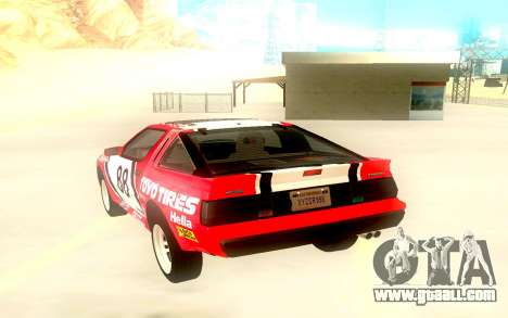 Mitsubishi Starion ESiR US-Spec 1986 for GTA San Andreas back view