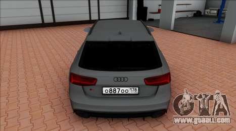 Audi RS6 Avant C7 Bulkin for GTA San Andreas right view