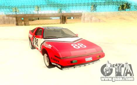 Mitsubishi Starion ESiR US-Spec 1986 for GTA San Andreas