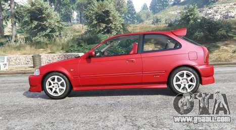 GTA 5 Honda Civic Type-R (EK9) 2000 v1.1 [replace] left side view
