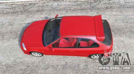 GTA 5 Honda Civic Type-R (EK9) 2000 v1.1 [replace] back view