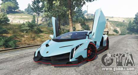 GTA 5 Lamborghini Veneno 2013 v1.1 [replace] right side view