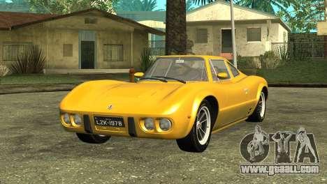 Bianco S 1978 for GTA San Andreas