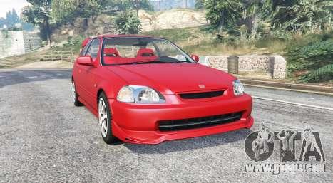 Honda Civic Type-R (EK9) 2000 v1.1 [replace] for GTA 5