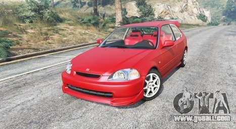 GTA 5 Honda Civic Type-R (EK9) 2000 v1.1 [replace] right side view