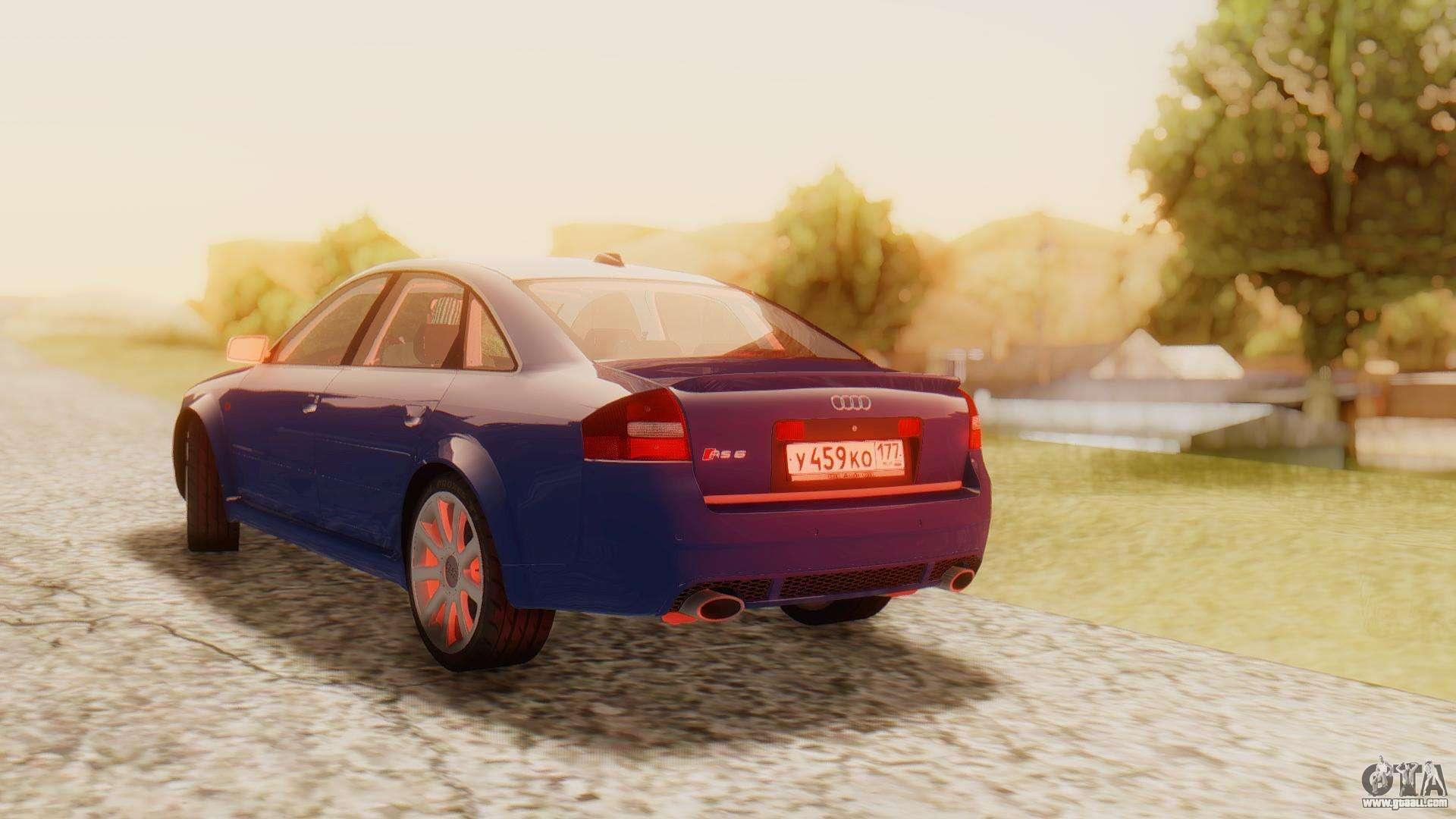 Audi RS6 C5 2002 for GTA San Andreas