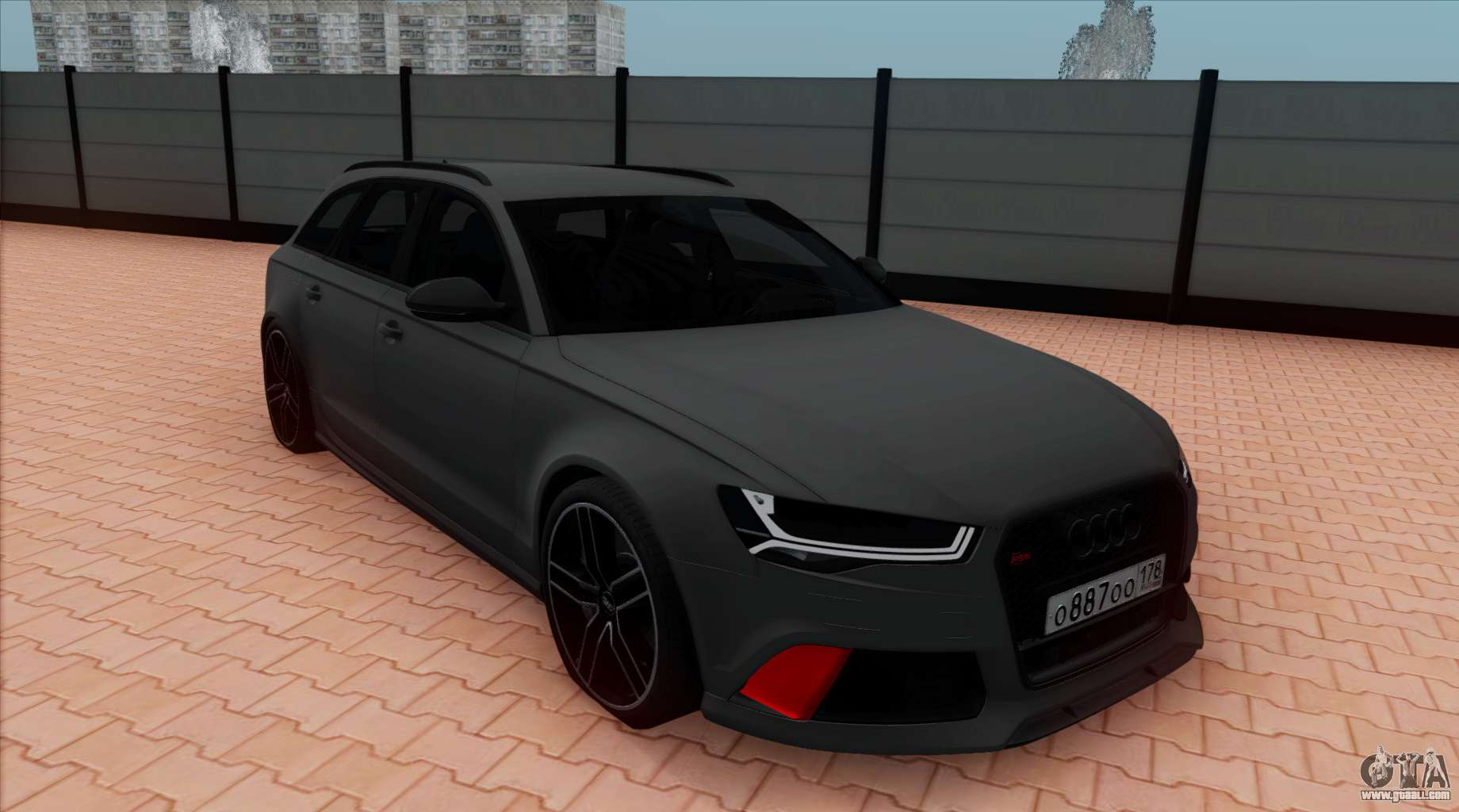 audi rs6 avant c7 bulkin for gta san andreas. Black Bedroom Furniture Sets. Home Design Ideas