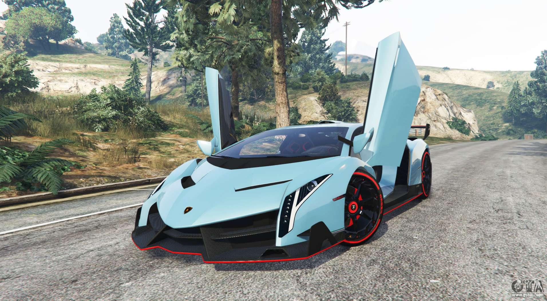 Lamborghini Veneno 2013 V1 1 Replace For Gta 5