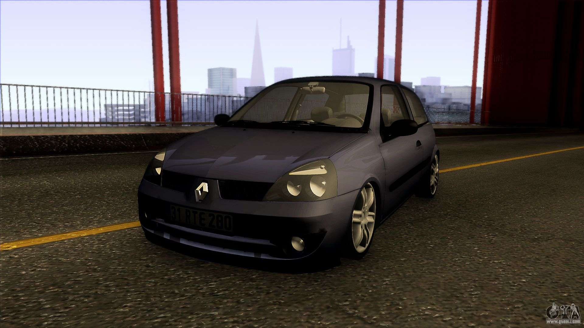 renault clio coupe 2005 for gta san andreas. Black Bedroom Furniture Sets. Home Design Ideas