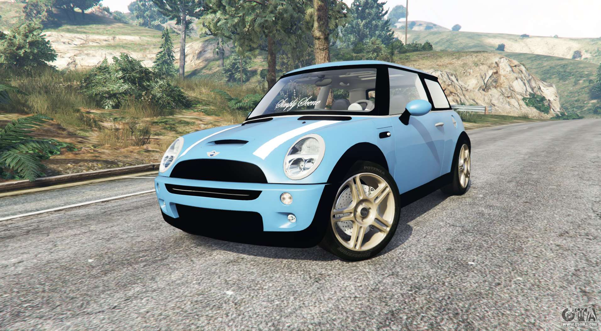 mini cooper s r53 replace for gta 5. Black Bedroom Furniture Sets. Home Design Ideas