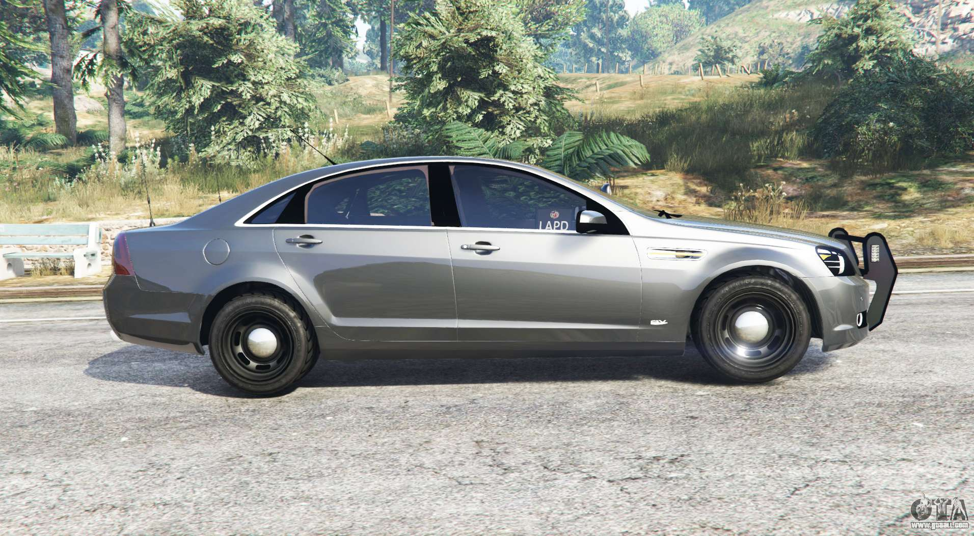 Chevrolet Caprice Unmarked Police v2 0 [replace] for GTA 5