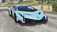 Lamborghini Veneno 2013 v1.1 [replace] for GTA 5