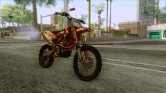 KTM 450 SF-X Redbull for GTA San Andreas