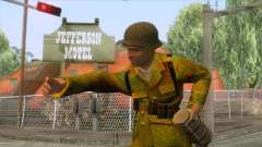 World War II - Camouflage Taiwanese Soldier for GTA San Andreas