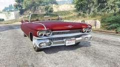 Cadillac Eldorado Biarritz 1959 v1.1 [replace] for GTA 5
