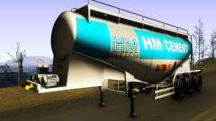 HM Cement Trailer for GTA San Andreas