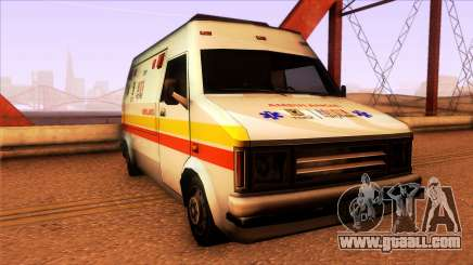 Ambulancia Rumpo Colombiana for GTA San Andreas